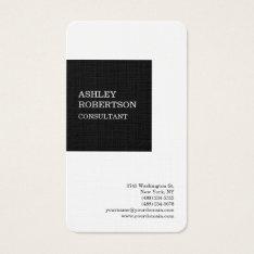 Modern Professional Stylish Trendy Minimalist Business Card at Zazzle