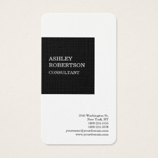 Modern Professional Stylish Trendy Minimalist Business Card