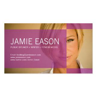 Modern Profile Card - Jamie Eason Business Card