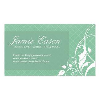 Modern Profile Card - Jamie Eason Business Card Templates
