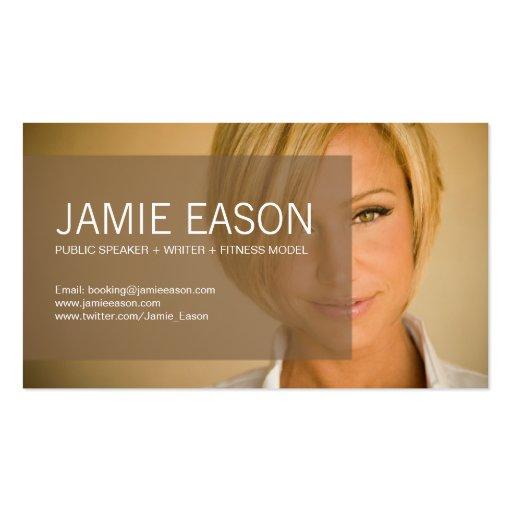 Edgy business card templates page3 bizcardstudio modern profile card jamie eason business cards colourmoves