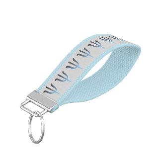 Modern Psychology Symbol Wrist Key Chain Wrist Keychain