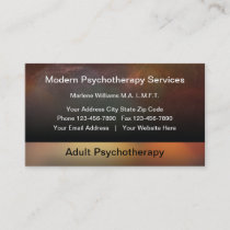 Modern Psychotherapy Appointment Card