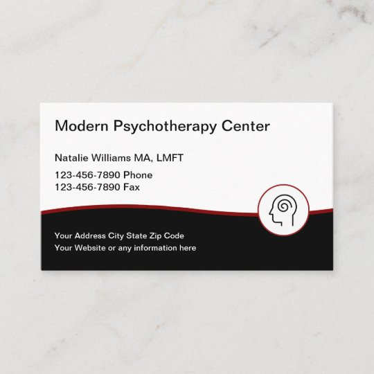 Modern Psychotherapy Services Business Card