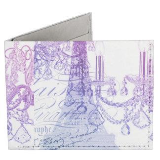 modern purple chandelier paris eiffel tower tyvek wallet
