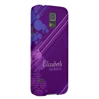 Modern Purple Grunge Samsung Galaxy Nexus Case