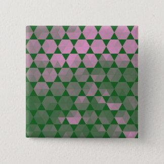 Modern Purple Hex Graphic Design Button
