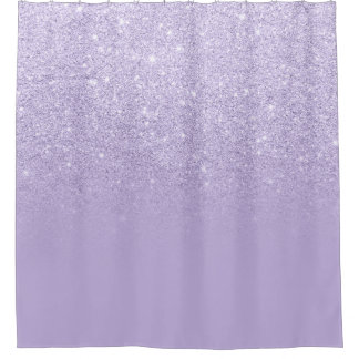 purple and grey shower curtain. Modern purple lavender glitter ombre color block shower curtain Purple Shower Curtains  Zazzle