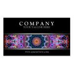 Modern Purple Lotus Business Card
