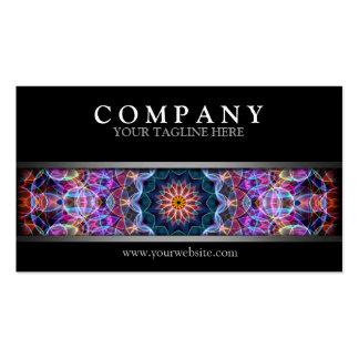 Modern Purple Lotus Business Cards