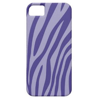 Modern Purple Zebra Print Skin Pattern iPhone SE/5/5s Case