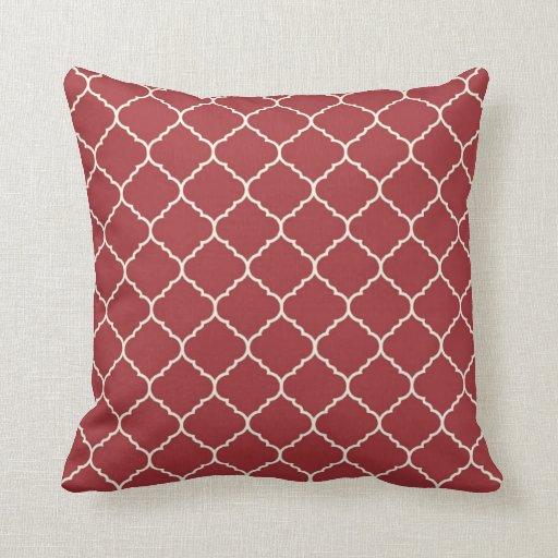 Modern Red Pillows : Modern Pillows - Modern Throw Pillows Zazzle
