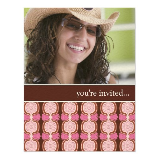Modern Quinceanera Party Invitations