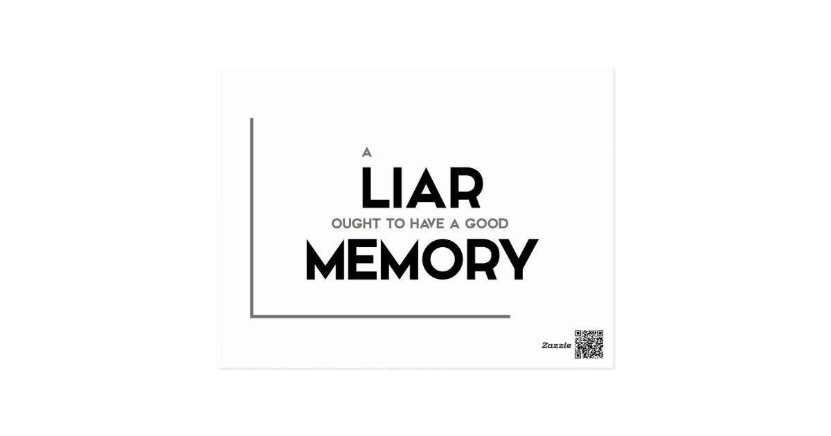 Quotes on a liar