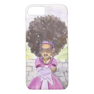 Modern Rapunzel Afro iPhone 7 case