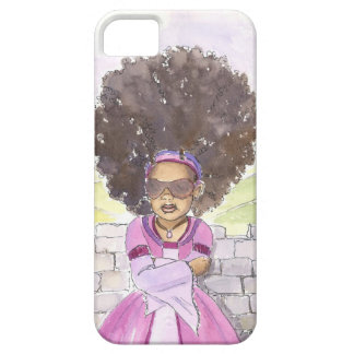 Modern Rapunzel Afro iphone case iPhone 5 Covers