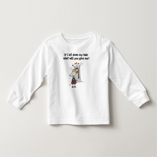 Modern Rapunzel Toddler T-shirt