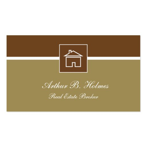 Modern real estate business cards business card zazzle for Modern real estate business cards
