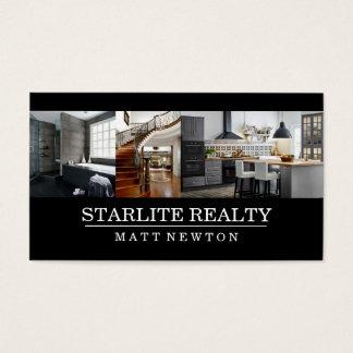 Modern Real Estate Real Estate Agent Business Card