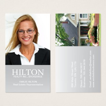 Professional Business Modern Realtor Business Card