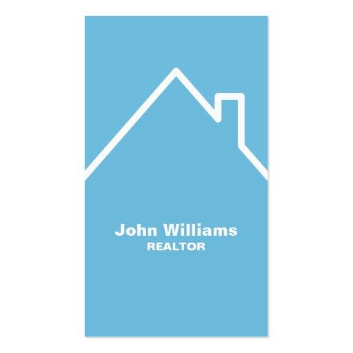 Modern realtor real estate business cards zazzle for Modern real estate business cards