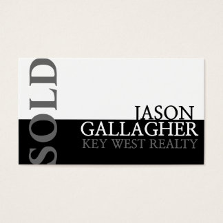 Modern Realty Real Estate Realtor Business Card
