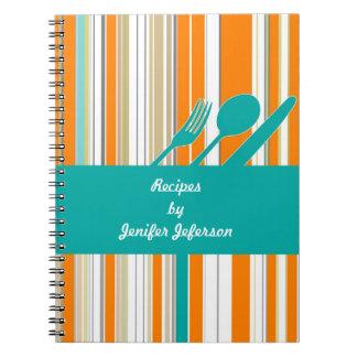 Modern Recipe Notebook
