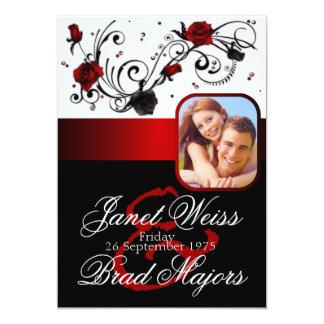 modern_red_and_black_rose_wedding_invitation r4e26edde30d947ee959489e25a831563_zk9c4_324?rlvnet=1 red black wedding invitations & announcements zazzle,Wedding Invitations Red Black And White