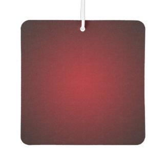 Modern Red-Black Grainy Vignette Air Freshener