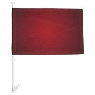 Modern Red-Black Grainy Vignette Car Flag