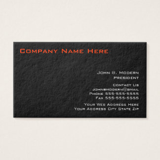 Modern Red Core Business Cards