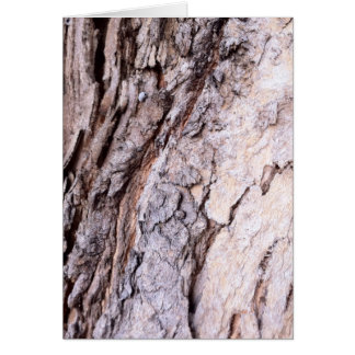 Modern Red Gumtree bark design Greeting Card