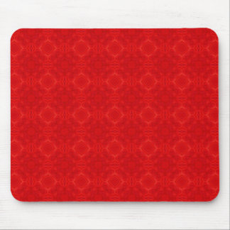 Modern red wood pattern mouse pad