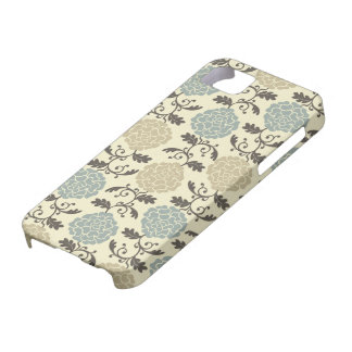 Modern Regal Rose Print Case-Mate iPhone 5 Cover