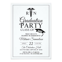 Modern Doctor S Medical School Md Graduation Party Invitation Zazzle Com