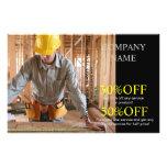 Modern Renovation Handyman Carpentry carpenter Flyer