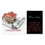 Modern Renovation Handyman Carpentry Construction Double-Sided Standard Business Cards (Pack Of 100)