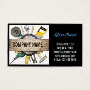 Renovation business cards templates zazzle modern renovation handyman carpentry construction business card colourmoves Images