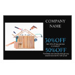 Modern Renovation Handyman Carpentry Construction Flyer