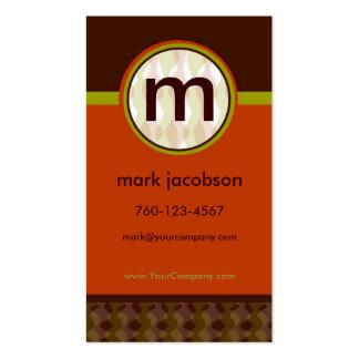 Modern-Retro Business Card