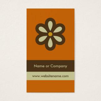 Modern Retro Business Card/Social Networking Card