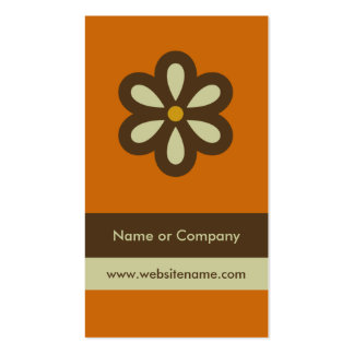Modern Retro Business Card/Social Networking Card Double-Sided Standard Business Cards (Pack Of 100)