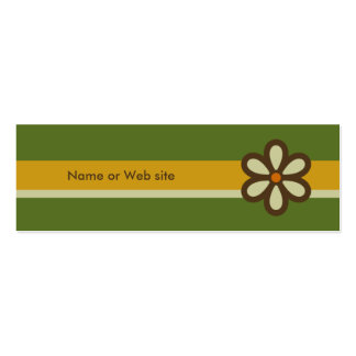 Modern Retro Profile Card - Social Networking Card