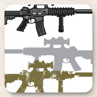 Modern Rifle Beverage Coaster