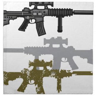 Modern Rifle Napkin