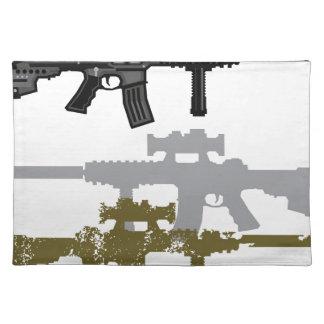 Modern Rifle Placemat