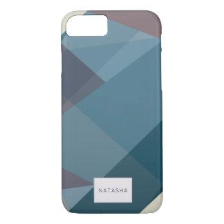Modern Romantic Color Block iPhone 7 Case