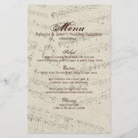 Modern Romantic Music notes Music Wedding