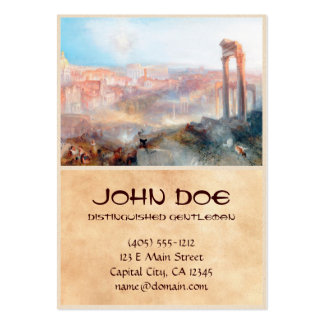 Modern Rome Campo Vaccino Joseph Mallord William Large Business Cards (Pack Of 100)