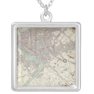 Modern Rome Square Pendant Necklace